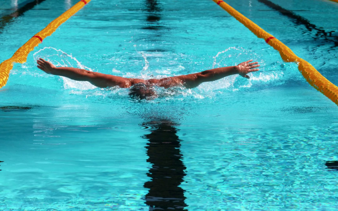 How to swim without getting tired